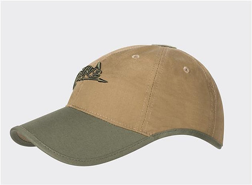 Logo Cap - PolyCotton Ripstop - Coyote / Olive Green A