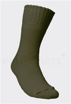 NORWEGIAN Army Socks - Wool - Olive Green