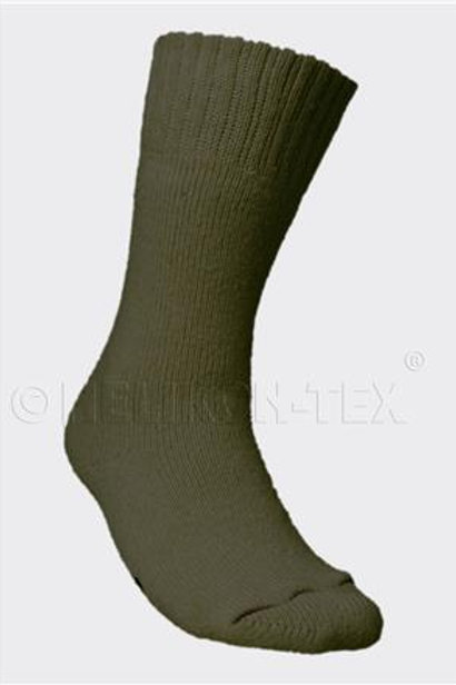 NORWEGIAN Army Socks - Wool - Olive Green