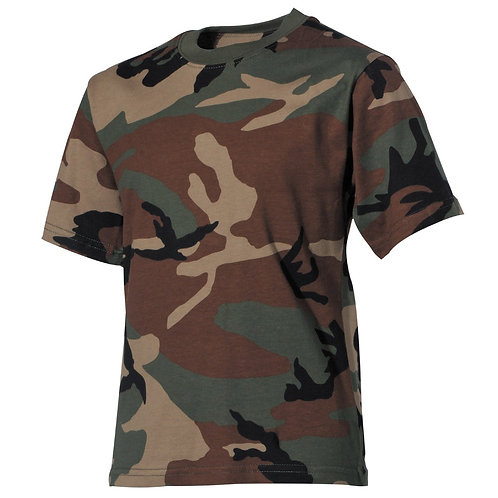 Copii T-Shirt, de paduri,  jumătate maneca