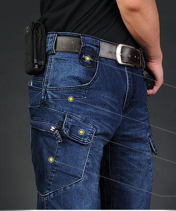 "Pantaloni tactici Jeans ""Pantera"""