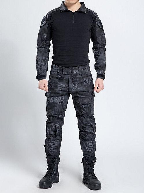 Costum tactic kryptek negru