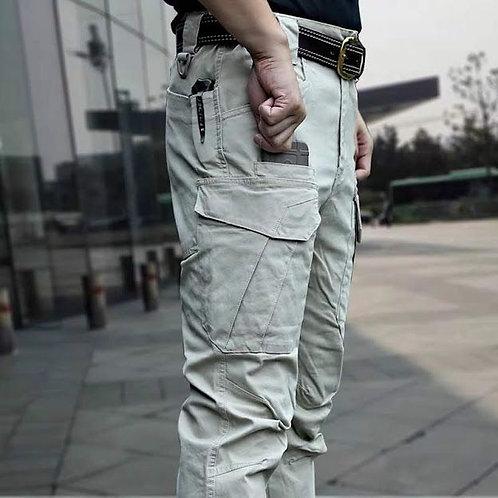 "Pantaloni tactici RIP STOP ""Canvas"" Khaki"