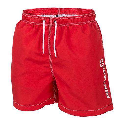 Pantaloni pentru inot - HIPPOCAMPUS - Rosu