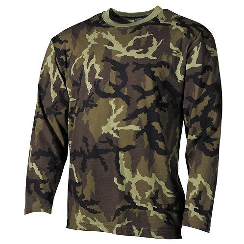 Tricou maneca lunga (bluza) Camuflaj Cehia