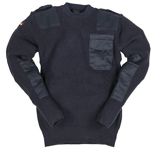Pulover din lana - Bundeswehr - Albastru