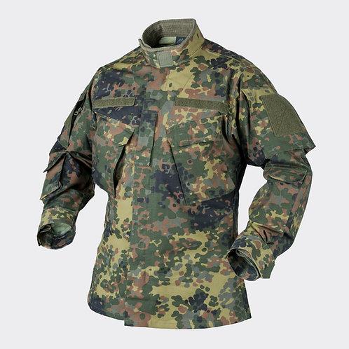 CPU® Shirt - PolyCotton Ripstop - Flecktarn