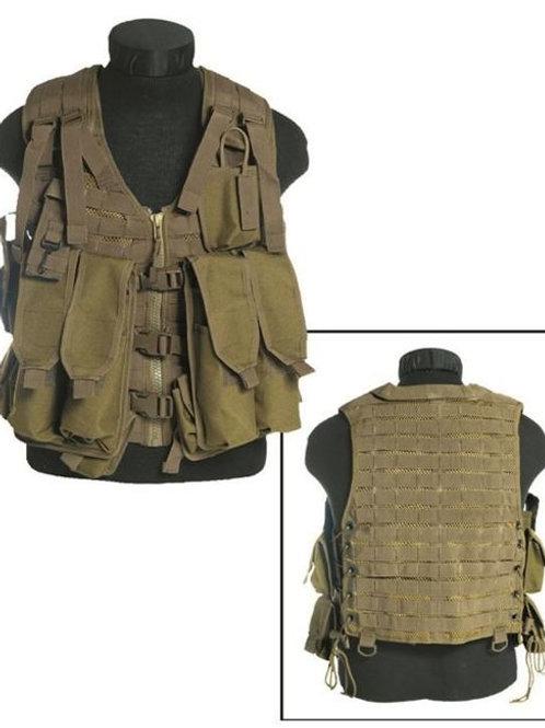 AK 74 Coyote NYLON COMBAT VEST 12 POC