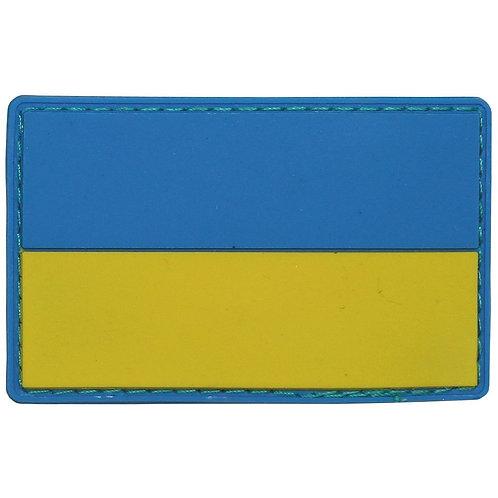 """Patch, emblema """"Ukraine"""", 3D, 8 x 5 cm"""