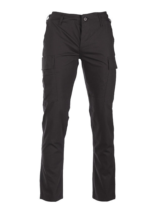 PANTALONI TACTICI US NEGRI BDU SLIM FIT