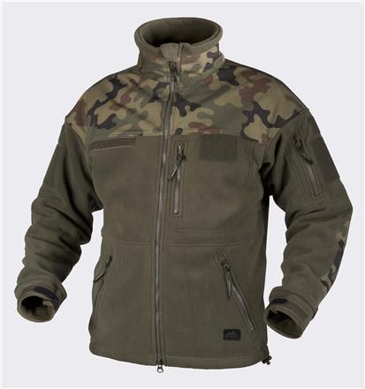 Polish INFANTRY Jacket - Fleece - Olive Green/PL Woodland