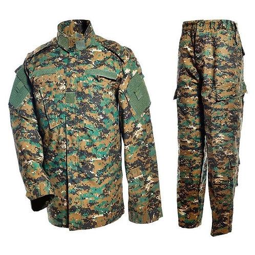 Costum US ACU Jacheta+Pantaloni Rip Stop digital woodland