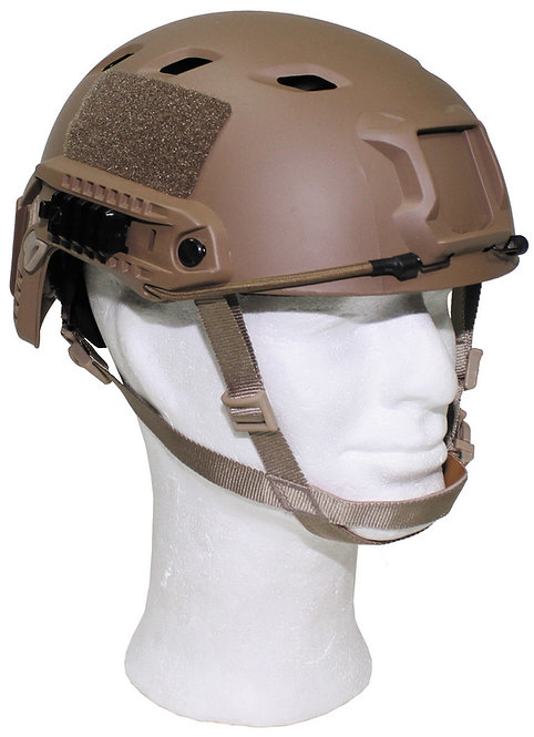 """Casca US , """"FAST-paratroops """", Coyote Tan, ABS-plastic"""
