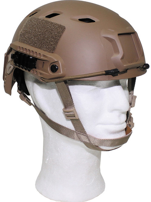 "Casca US , ""FAST-paratroops "", Coyote Tan, ABS-plastic"