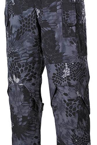 Pantaloni Mission Rip Stop, kryptec black