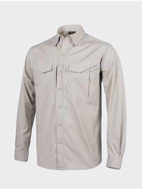 DEFENDER Mk2 Shirt long sleeve® - PolyCotton Ripstop - Khaki