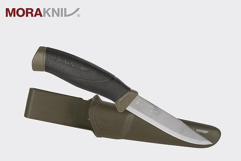 Morakniv® Companion MG (C) - Carbon Steel - Olive Green