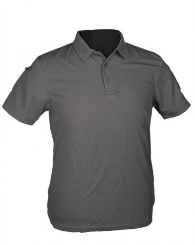 Tricou Polo tactic grey quickdry