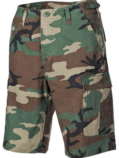 Pantaloni Scurti US Ripstop Camuflaj  woodland-st