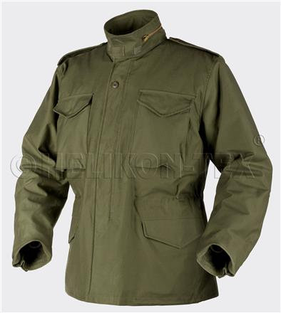 M65 Jacket - NyCo Sateen - Olive Green