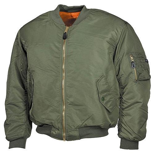 Jacheta Pilot US MA-1 OD green