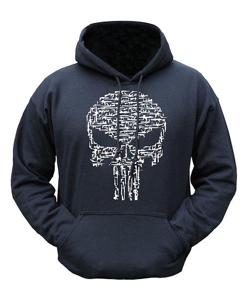 Hoodie Skull / Guns