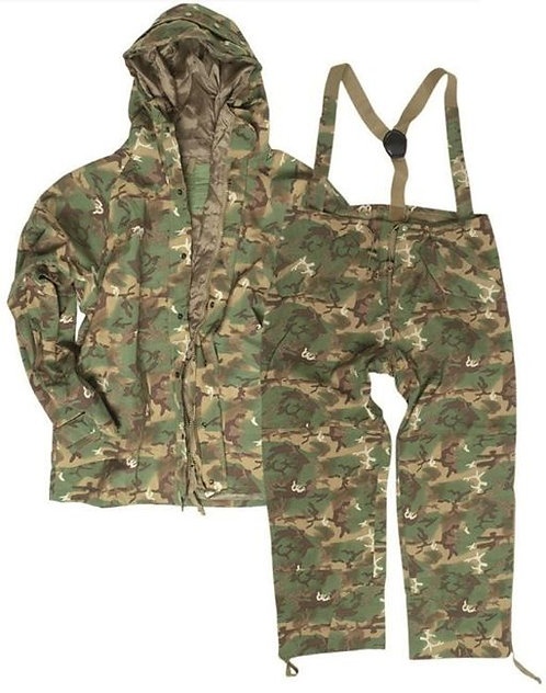 Costum impermeabil - US Woodland - 3 Straturi