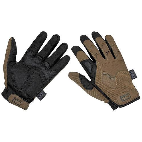 "Manusi Tactical Gloves, ""Attack"", coyote"