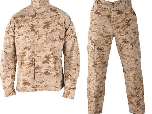 Costum US ACU Jacheta+Pantaloni Rip Stop digital desert