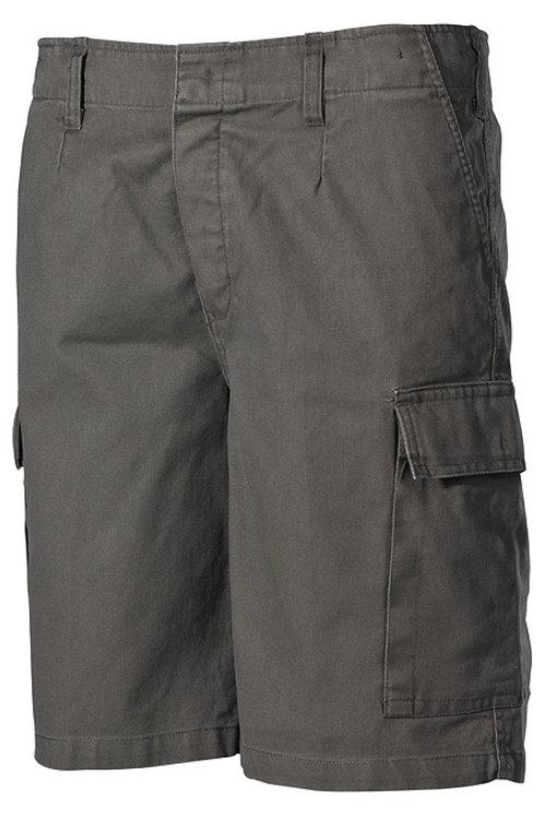 Pantaloni Scurti BW oliv- stonewashed