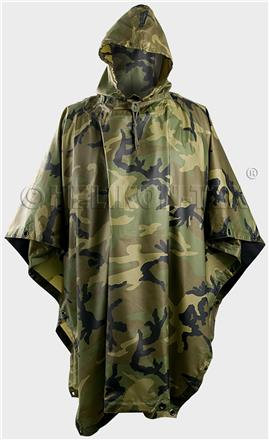 Poncho U.S. Model - US Woodland