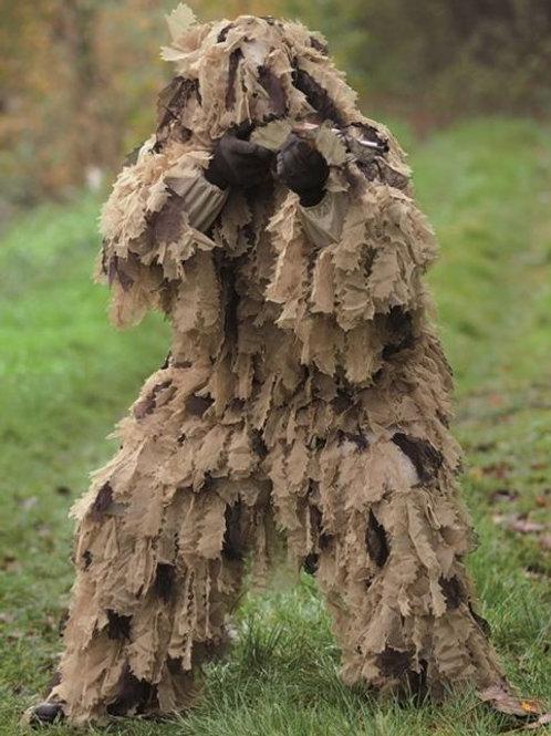 Costum Ghillie din 3 parti Oak Leaf 3D, Desert