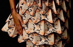 Vestidos de papel para Bershka