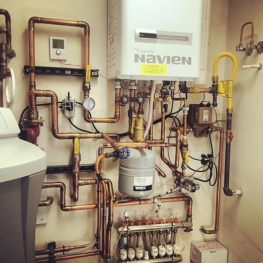 Navien High Efficiency Combination Boiler