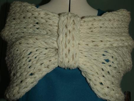 Tricoter un cache épaule