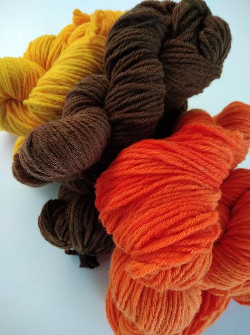 Fil à tricoter pure laine