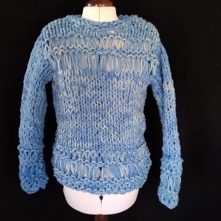 DIY faire un pull dans la journée