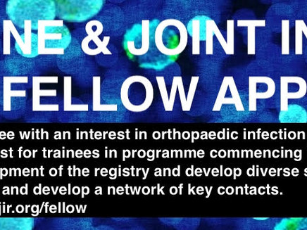 Bone and Joint Infection Registry Fellowship