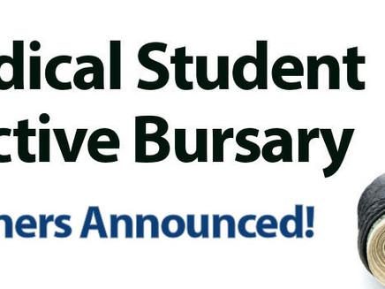 Medical Student Elective Bursary Winners!
