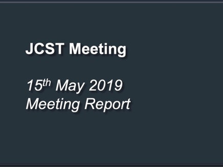 JCST Meeting