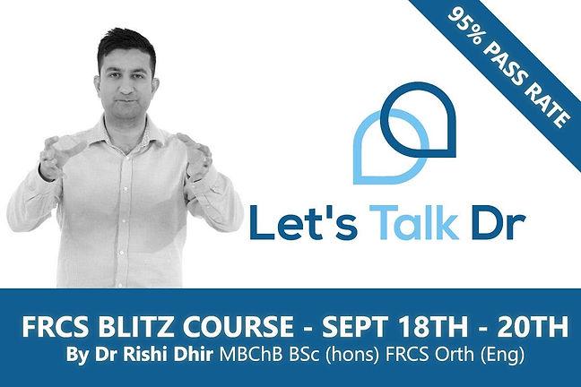 Online Blitz Course – September 2021