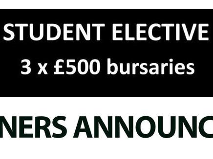 Medical Student Bursary 2017 – Winners announced!!