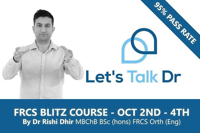 Online Blitz Course – October 2021