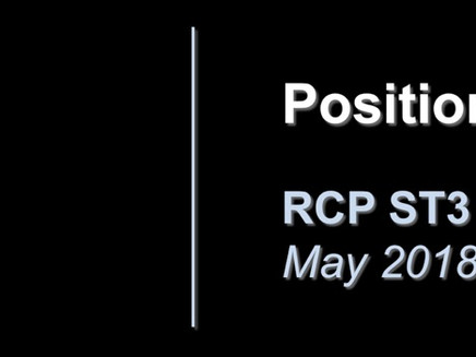BOTA Position Statement: RCP ST3 Recruitment 2018