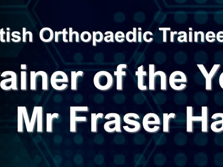 TOTY 2017 – Mr Fraser Harrold
