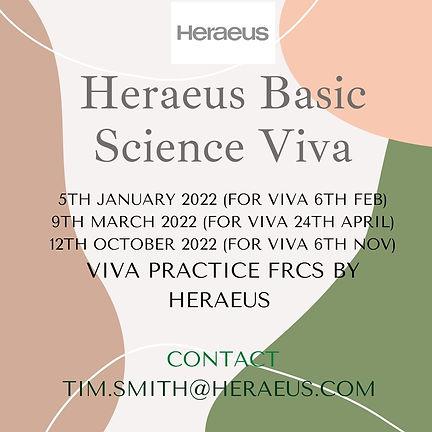 Basic Science Viva for FRCS Part 2