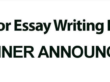 BOTA Junior Essay Competition – Winner Announced!