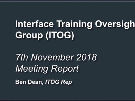 Interface Training Oversight Group (ITOG) Meeting