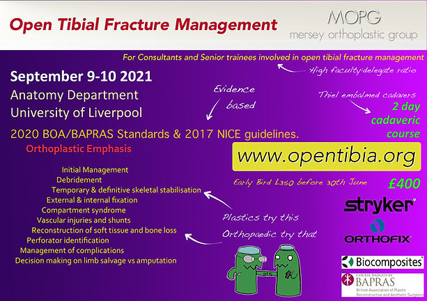 Open Tibia Fracture Management Course