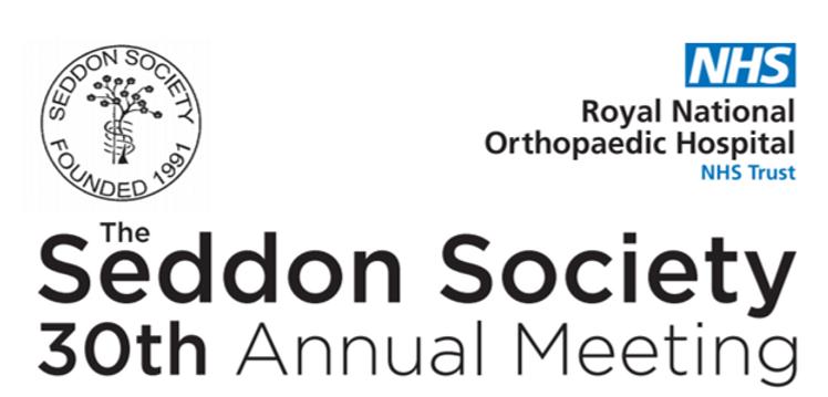 Seddon Society Virtual Research Meeting